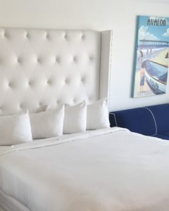 Tufted Headboard Faux Leather